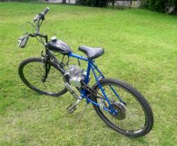 Bicicleta motorizada 80 cc usada acabamos de revisar a princípio está tudo ok *