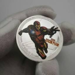 Moeda Comemorativa Super Heróis Marvel