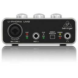 Interface de Audio - Behringer UM2