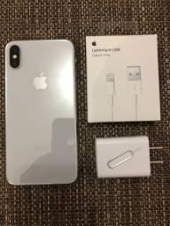 iPhone X 64gb Silver - Sem trocas