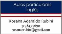 Aulas Particulares de Inglês (aulas totalmente individuais)
