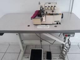 Máquinas de costura overlok ponto cadeia