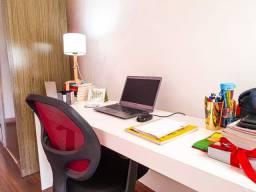 Mesa para trabalho home office/estudos em casa 100% em mdf
