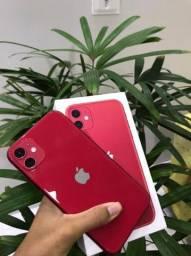 iPhone 11 Red 64Gb Aparelho impecável