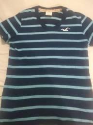 Camiseta Hollister Original - Tamanho P