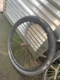Vendo rodas aero com pneu!!