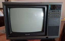 TV vintage Sharp, ideal para videogames!!!