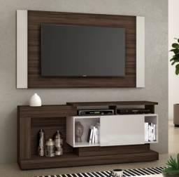 Conjunto rack e painel para tv ate 55 polegadas