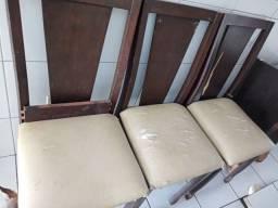Conjunto Cadeiras com Pe de Mesa