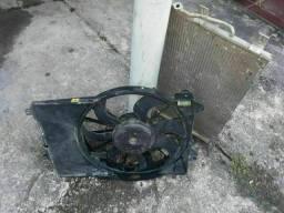 Ventoinha e condensador Do fiat punto 1.4