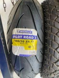 Pneu pneu Michelin 190/50 17  na Promoção