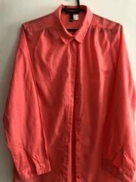 Blusa de botão da H&M Tamanho M