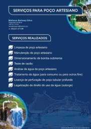 Serviços para Poço Artesiano