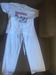 Camiseta e Calça Capoeira Infantil 10 a 12 anos
