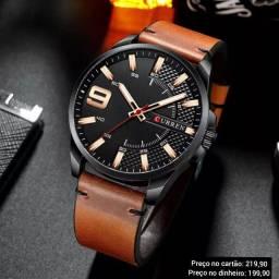 Relógio Masculino Original Curren Alta Qualidade