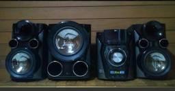 Mini System LG - Potência e qualidade sonora unidos em um design marcante!