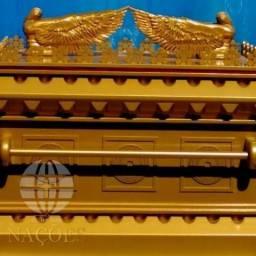 Arca da Aliança modelo Templo de Salomão tamanho Médio
