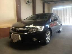 Honda Civic exs top de linha com baixo KM - 2012