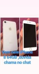 Vendo iPhone semi novo ,nenhum detalhe