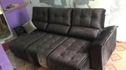 Sofa A pronta entrega - retratil e reclinavel - 3 metros - imperdivel a vista