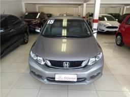 Honda Civic 2.0 lxr 16v flex 4p automático - 2015