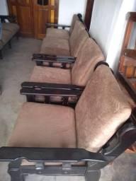 Jogo de sofá antiguidade muito bom
