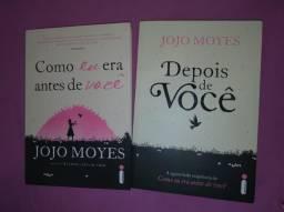 """Kit 2 livros Jojo Moyes - """"Como Eu Era Antes de Voce"""" e """"Depois de Você"""""""