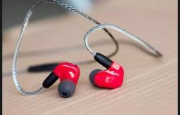 Fone In-ear moxpad x9 Dual driver MP3. Realizo entrega