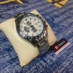 Relógio Masculino Curren - A prova D'Agua