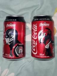 Coca cola vingadores capitão america e homem de fero