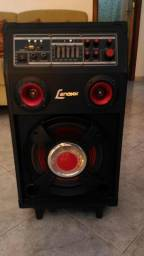 Caixa amplificada Lenoxx-130WRMS-Vendo ou Troco-Em iguaba