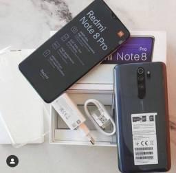 Note 8 pro 6/128 GB + smartwatch de brinde