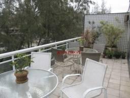 Cobertura com 4 dormitórios para alugar, 560 m² por R$ 8.000,00/mês - Recreio dos Bandeira