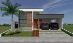 Casa nova 3 suítes, escritório e quintal. 175 m² - Condomínio Colinas - Taubaté/SP