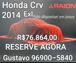 Honda Crv Exl 2014 Único dono Garantia de 1 ano