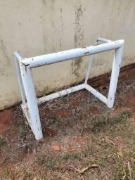 Mini trave (par) Gol Futebol Chácara