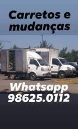 Disponível para Mudanças e transporte 9 8 6 2 5 0 1 1 2 whats