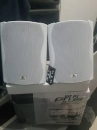 """Caixa Ativa mais Passiva Bluetooth 6"""" Frahm 120w"""