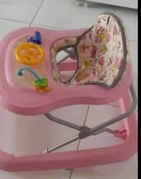 Andador Toy Rosa - Tutti Baby