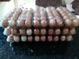 Ovos caipiras em Itapoá