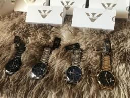 Relógio Masculino Nibosi Original C/ Cronógrafo Anti-risco pronta entrega