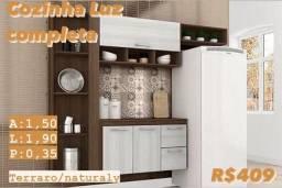 Cozinha Completa Compacta Luz