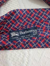 Gravata Burberry 100% Seda, importada Original