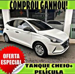 TANQUE CHEIO SO NA EMPORIUM CAR!! HYUNDAI HB20 1.0 SENSE ANO 2020 COM MIL DE ENTRADA