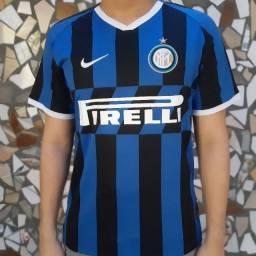Camisa I Inter de Milão 19/20 Listrada