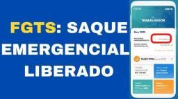 FGTS emergencial  em 48 horas em sua conta  zap *