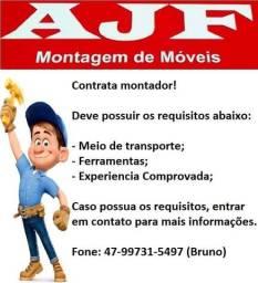 Contrato montador de móveis