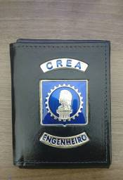 Carteira em couro para Engenheiro CREA
