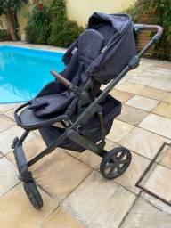 Carrinho de bebê ABC Design + bebê conforto + adaptador