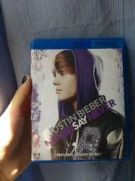 DVD Never Say Never do Justin Bieber